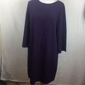 Long Anne Klein purple dress